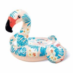 Flotador inflable flamenco tropical