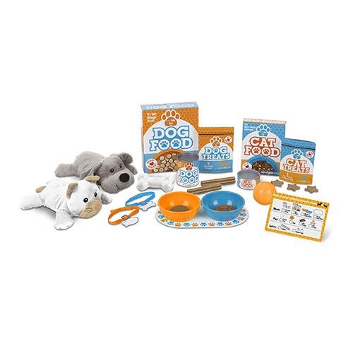Pet treats play set