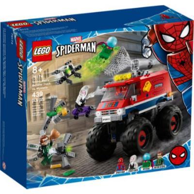 LEGO Spiderman El Monster Truck de Spider-Man contra Mysterio