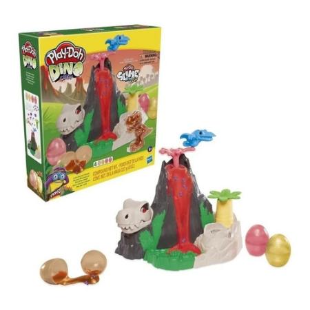 Plastilina Play Doh Slime Dino Set De Volcán Hasbro