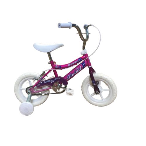 Bicicleta Rosa de 12″ para Niña