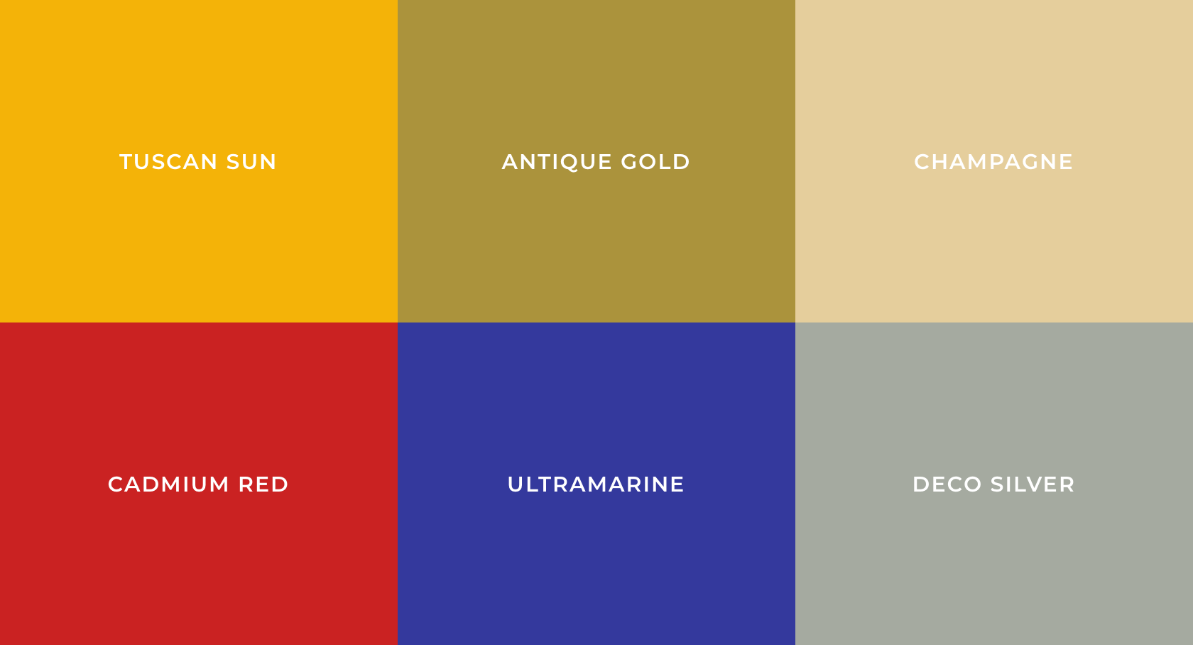 Most Popular Colors Through The Decades S