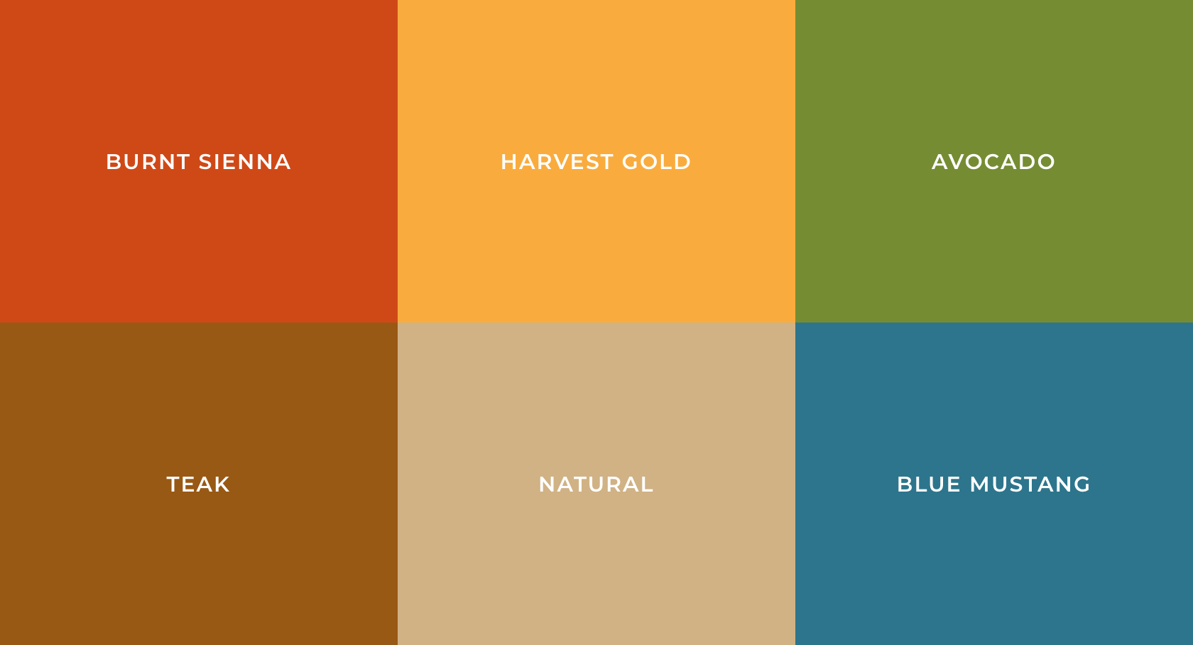 Most Popular Colors Through The Decades 1920s 2020s