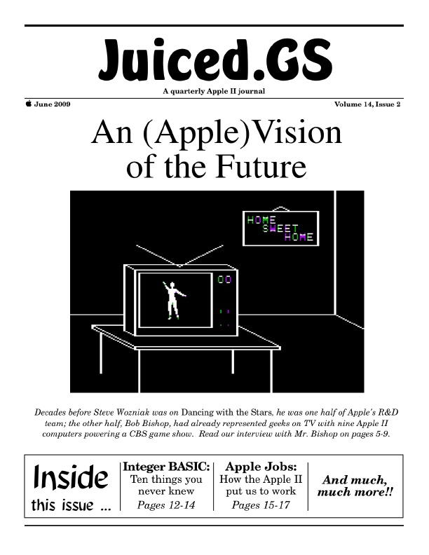 Volume 14, Issue 2 (June 2009) | Juiced GS