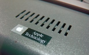 A rare instance of licensed Apple technology.