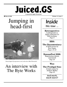 Volume 11, Issue 1 (March 2006)