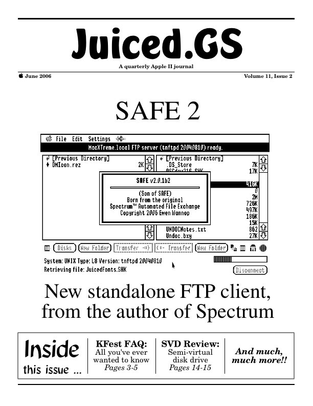 Volume 11, Issue 2 (June 2006)