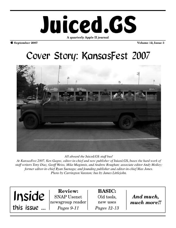 Volume 12, Issue 3 (September 2007)