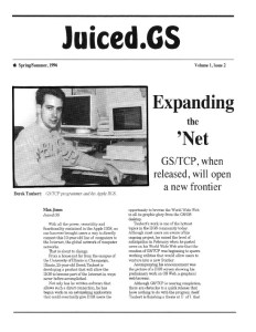 Juiced.GS Volume 1, Issue 2 (Spring/Summer 1996)