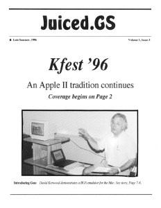 Juiced.GS Volume 1, Issue 3 (Late Summer 1996)