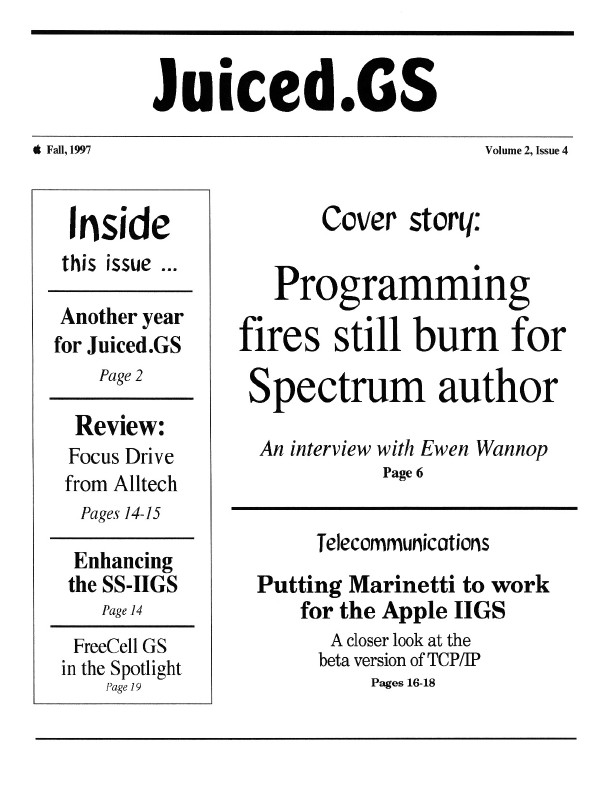 Volume 2, Issue 4 (Fall 1997)