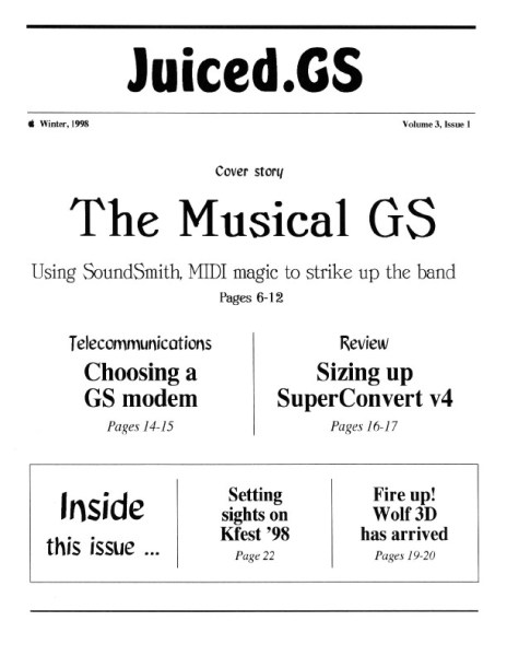 Volume 3, Issue 1 (Winter 1998)