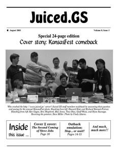 Volume 8, Issue 3 (August 2003)