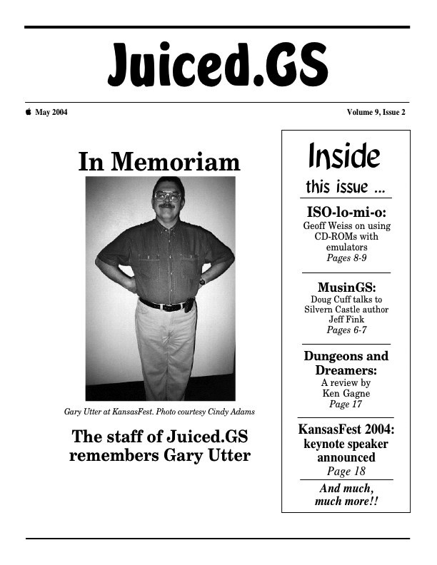 Volume 9, Issue 2 (May 2004)