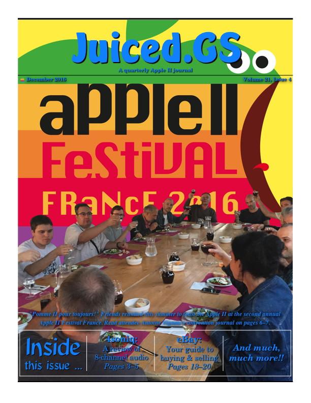 Juiced.GS Volume 21, Issue 4 (December 2016)