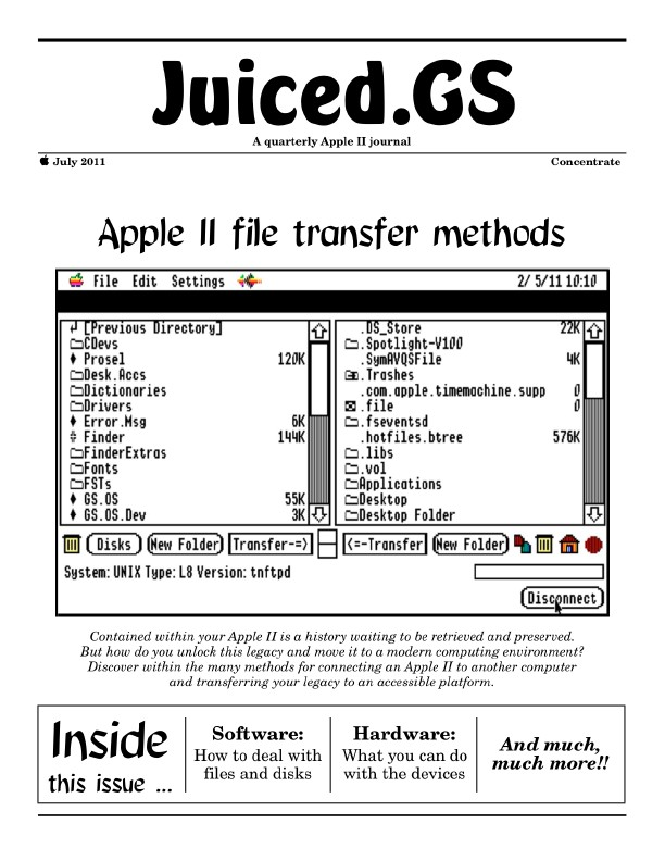 Juiced.GS Concentrate: File Transfer