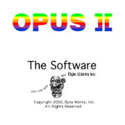 Opus ][: The Software