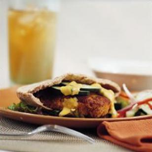 Curry Cashew Burgers!