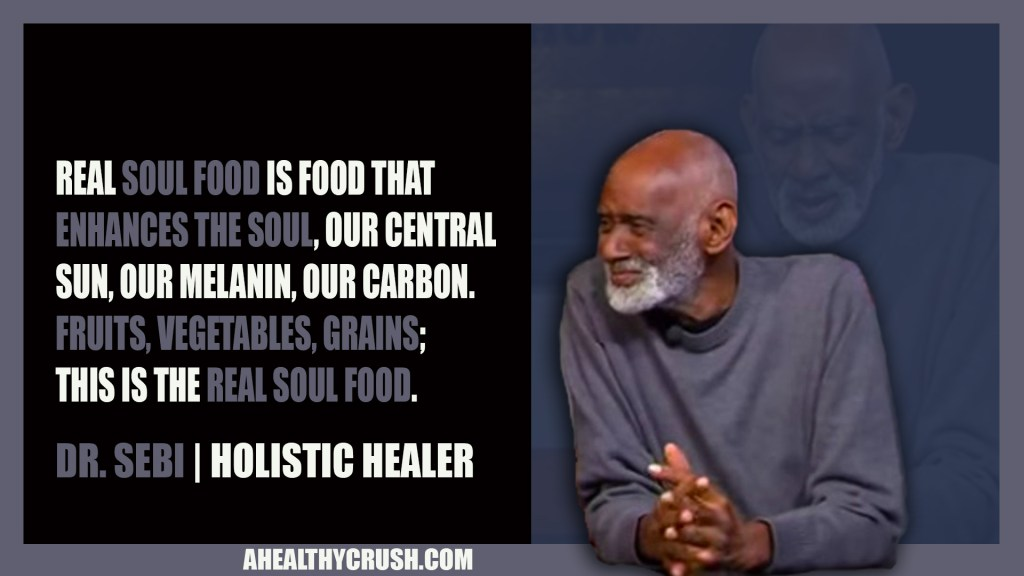 DR  SEBI NUTRITIONAL GUIDE | JUICE HUGGER'S A HEALTHY CRUSH