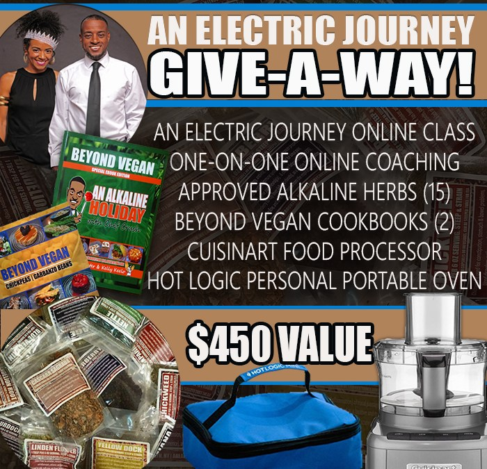 ENTER OUR ELECTRIC JOURNEY GIVE-A-WAY!