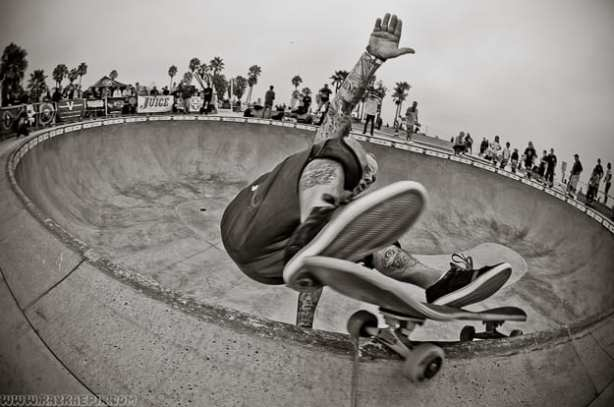 JAY ADAMS. VENICE SKATEPARK. PHOTO: RAY RAE GOLDMAN