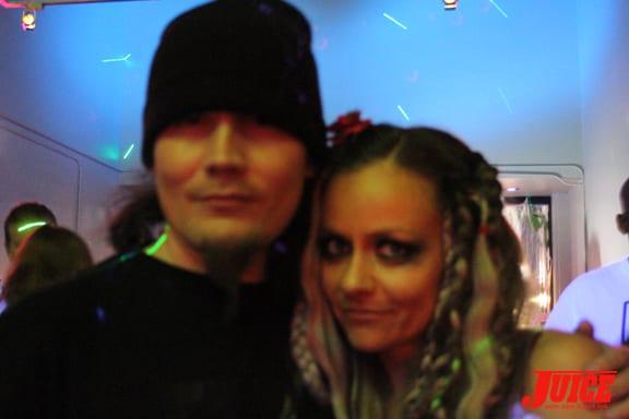 Richard Villa and Chloe Trujillo