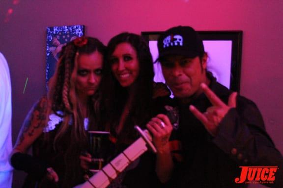 Vanessa Davy and the Trujillos.