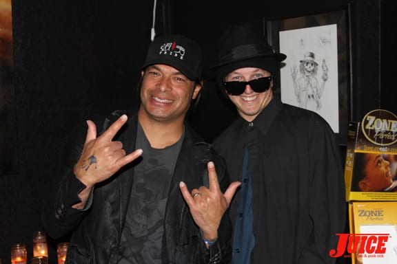 Robert Trujillo and Dan Levy