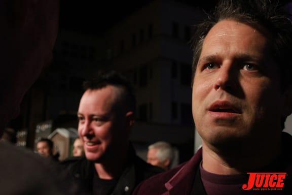 Ehren and Jeff Tremaine. Photo: Dan Levy
