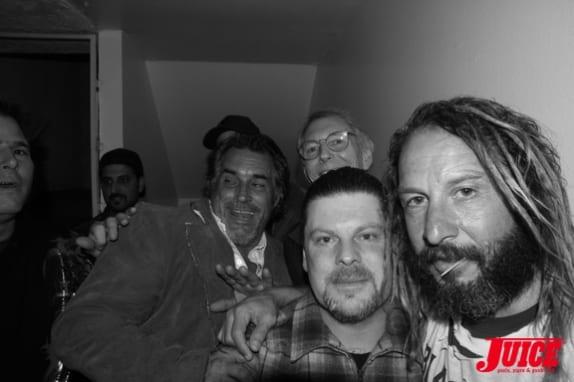 Steve Olson, Cris Dawson, Eric Dressen and Tony Alva