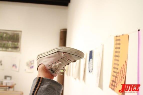 CRAIG STECYK III WORK SHOP AND ART SHOW Photo: Dan Levy