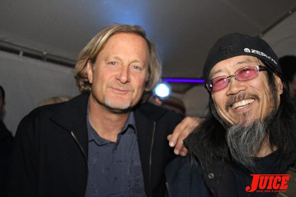 Stacy Peralta and Jeff Ho. Photo: Dan Levy