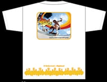 World Record Wall Ride Board Gallery T-shirt