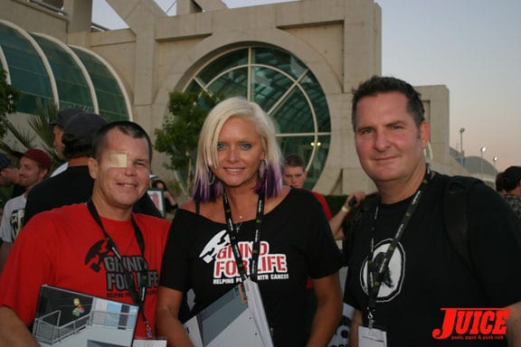 Mike Rogers, Savannah Boan, Jim Gray
