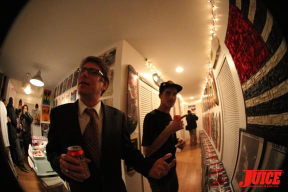 Banker Bill and Jason Landau.