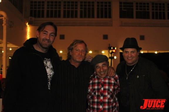 Ben Schroeder, Stacy Peralta, Steve Caballero and Dave Duncan.