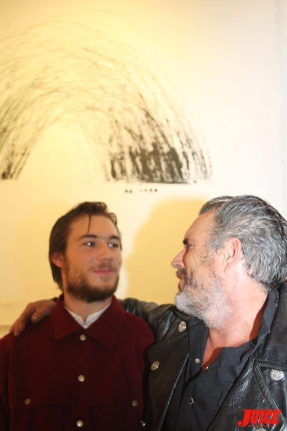Alex Olson and Papa Steve Olson