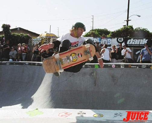 JAKE PIASECKI AT THE BASIC BOWL 2004. PHOTO: KAREN RENNIE