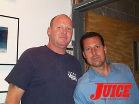 Dogtown's James Muir and Pat Bareis Photo: Dan Levy