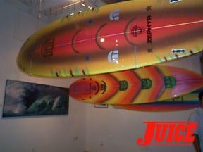 Big wave artillery. Photo: Dan Levy