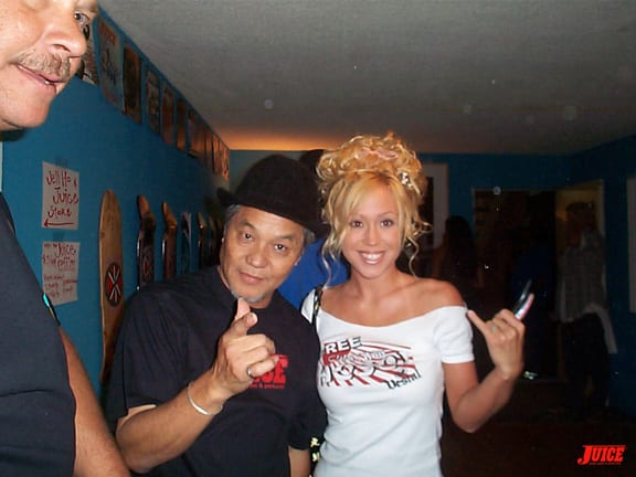 Ivan Hosoi and Jennifer Hosoi. Photo: Dan Levy