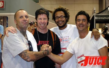 Jay Adams, Murf, Dune and Kessler. Photo: Dan Levy