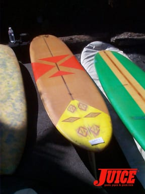 SS collectors boards: Photo: Dan Levy