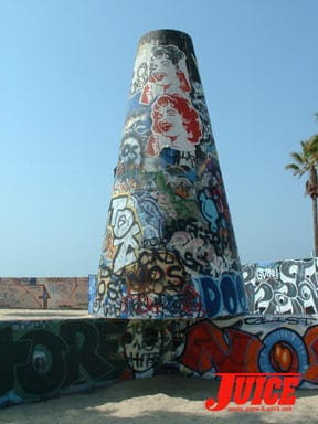 Venice Art Cone Ladies. Photo: Terri Craft