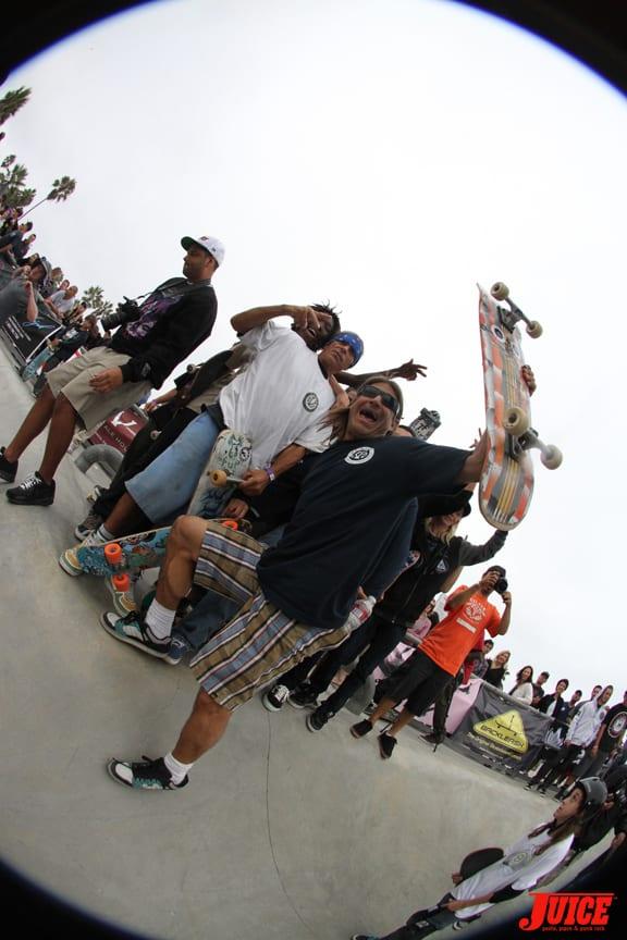 Tonan kept the action going. PHOTO: DAN LEVY