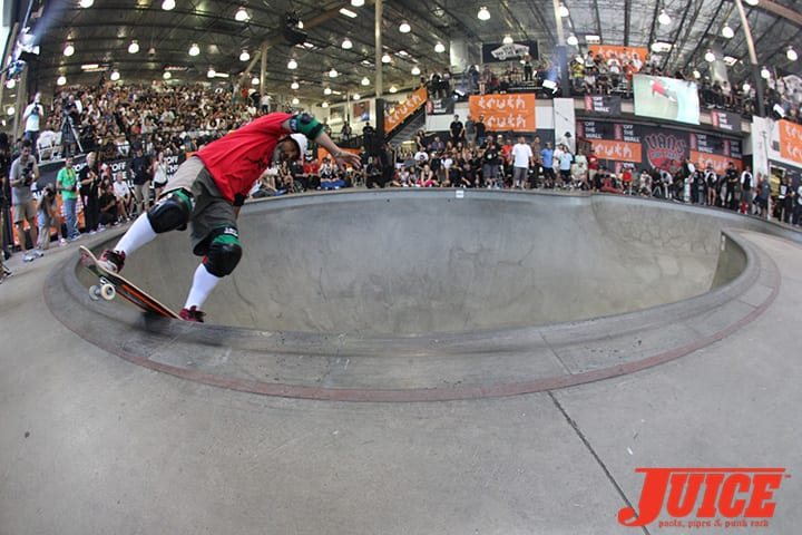 STEVE CABALLERO. VANS POOL PARTY 2014. PHOTO BY DAN LEVY
