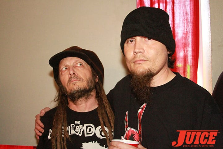 Keith Morris and Richard Villa hosted Daggers Rule! 2014. Photo by Dan Levy