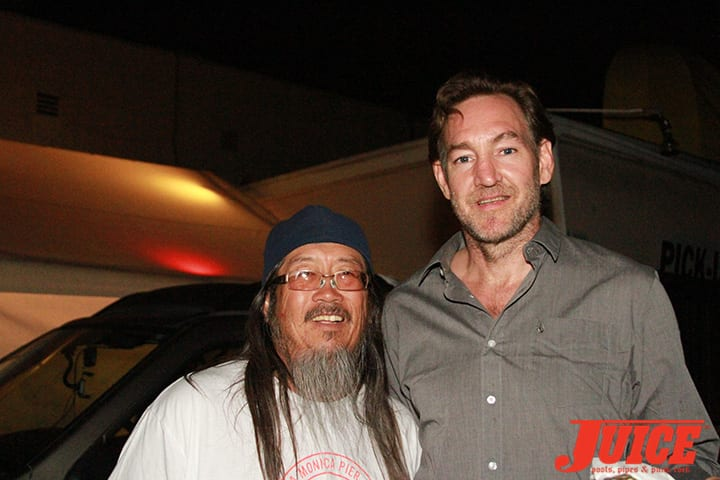 Jeff Ho and Ben Schroeder. Daggers Rule! 2014. Photo by Dan Levy