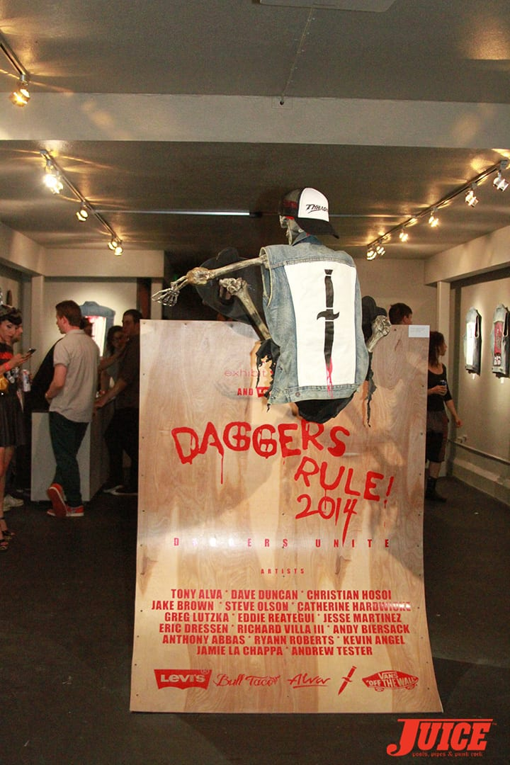 Daggers Rule! 2014. Photo by Dan Levy