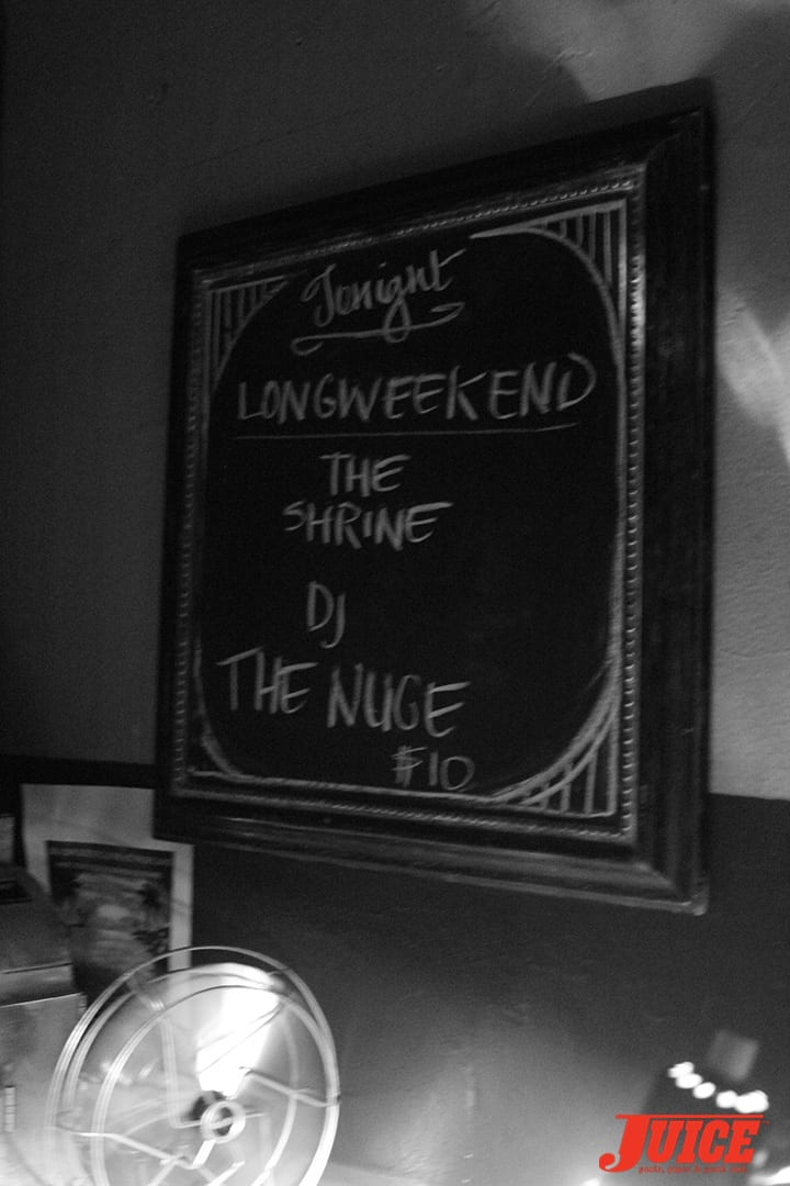 THE SHRINE AT THE TOWNHOUSE WITH DJ THE NUGE. PHOTO BY DAN LEVY